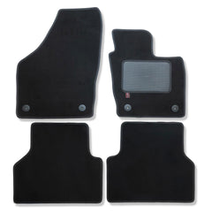 Audi Q3 2011 onwards over mat set shown in black automotive carpet