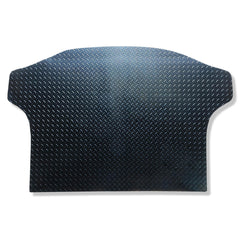 Kia Sportage 2016 onwards boot liner shown in black rubber with tread plate pattern