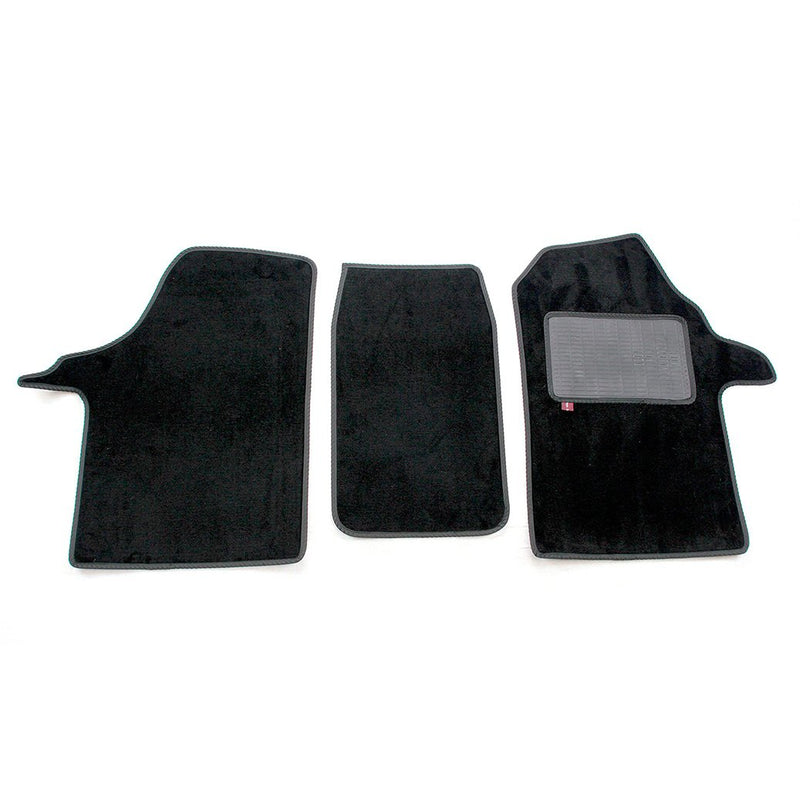 Mercedes Marco Polo camper van cab mat set in black automotive carpet