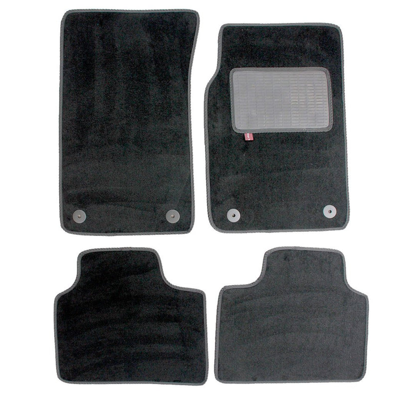 Vauxhall VXR8 mat set in black automotive carpet