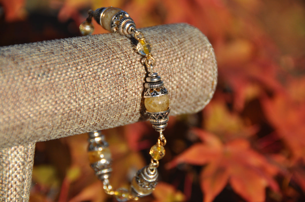 Citrine November Birthstone Bracelet