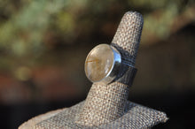 Load image into Gallery viewer, Rutilated Quartz Sterling Silver Ring