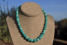 Load image into Gallery viewer, Amazonite Beaded Choker
