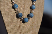 Load image into Gallery viewer, Adjustable Genuine Aquamarine Necklace