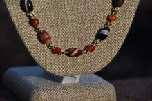 Load image into Gallery viewer, Oval Agate Necklace