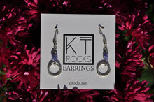 Load image into Gallery viewer, Tanzanite December Birthstone Dangle Earrings