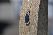 Load image into Gallery viewer, Teardrop Labradorite Pendant Necklace