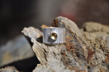 Load image into Gallery viewer, Citrine Birthstone Sterling Silver Wrap Ring