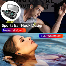Load image into Gallery viewer, TWS 5.0 Bluetooth Earphone 4000mAh LED Display Wireless Bluetooth Headphones IPX7 Waterproof Earbuds Stereo Headsets With Mic - Life's Hidden Treasures