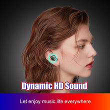 Load image into Gallery viewer, TWS Wireless Bluetooth Earphone Fingerprint Touch Stereo Headsets Sport Bluetooth Headphones With 4000mAh Waterproof Earphones - Life's Hidden Treasures