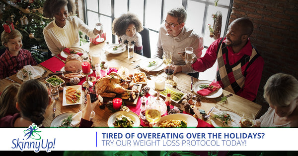 Tired Of Overeating Over The Holidays? Try Our Weight Loss Protocol Today!