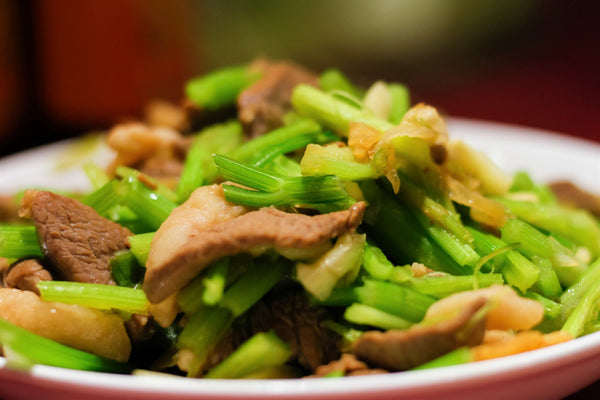 Chinese Chicken/Celery Stir-fry
