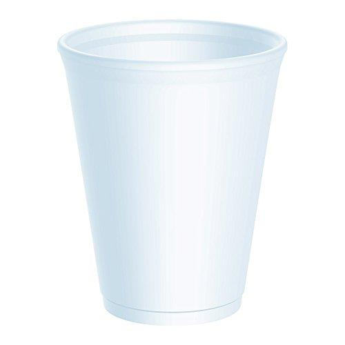 1,000 x 12 Ounce Dart/Foam Polystyrene Disposable Party Cups