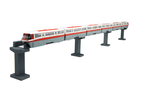 1/150 structure Kit Series No.11 Tokyo Monorail 50th Anniversary History train 500 form introduced in 1969 specification