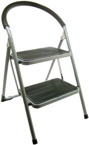Cool Great Ideas Folding Two Step Ladder Chair Stepladder That Is Also A Stool Extra Wide Deep Rubber Lined Treads Camellatalisay Diy Chair Ideas Camellatalisaycom