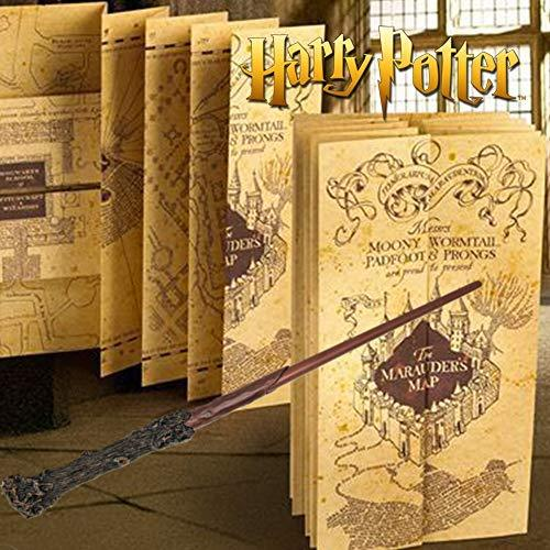 Harry Potter Wand & Harry Potter Marauders Map The Noble Collection on hogwarts map, vikings map, terra nova map, ajax map, avengers map, love map, illuminati map, apocalypse map, random map, zodiac map, black ops map, excalibur map, logistics map, prism map, erik the red map, legion map, stars map, wicked map, civilization map, cubs map,