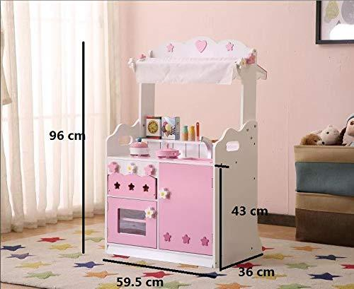 Kids Kitchen Accessories >> Hiliroom Kids Kitchen Playset Wooden Role Play Kitchen Sets Pretend Play Cooking Utensils Kitchen Cook Little Chef Set With 30 Accessories