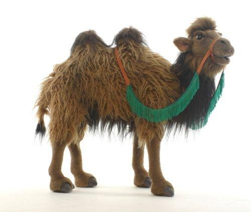 *SHIPPING TO MAINLAND UK ONLY* Standing Bactrian Camel Plush Soft Toy by Hansa 50cm. 5585