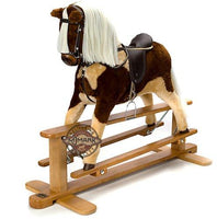 """SKEWBALD"" Handmade Brand New Rocking Horse""MARS VI"" from MJMARK"