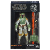 """Star Wars"" [Hasbro Action Figure] 6 inches ""black"" # 06 Boba Fett (japan import)"