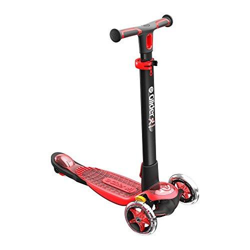 Yvolution Y Glider Xl Deluxe Scooter Red