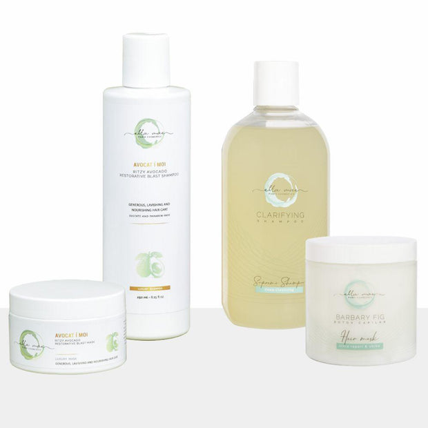Ella Mae Avocado Shampoo & Mask Wild Fig Botox Package + Choice of Shampoo & Mask