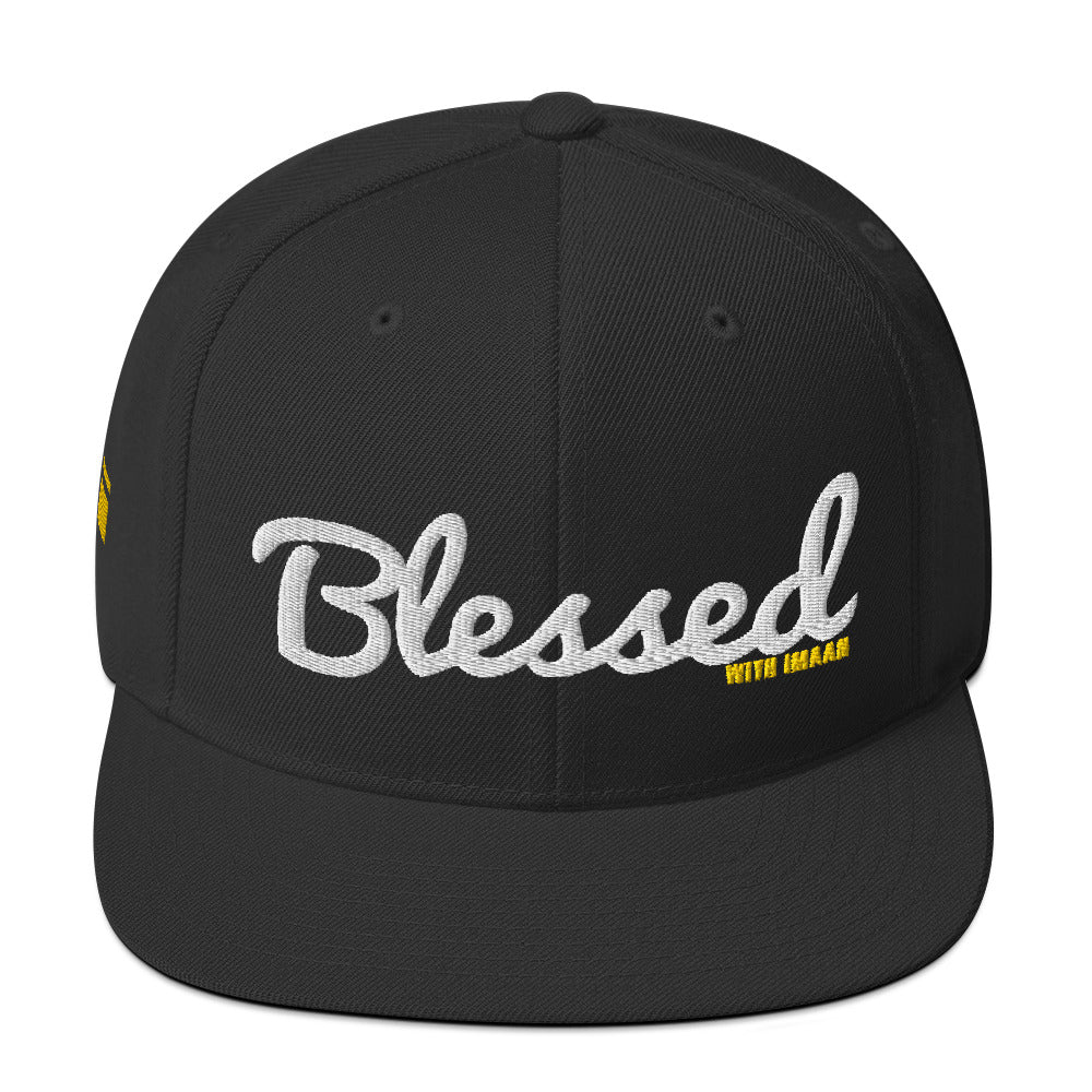 Blessed Snapback Hat - one love islam
