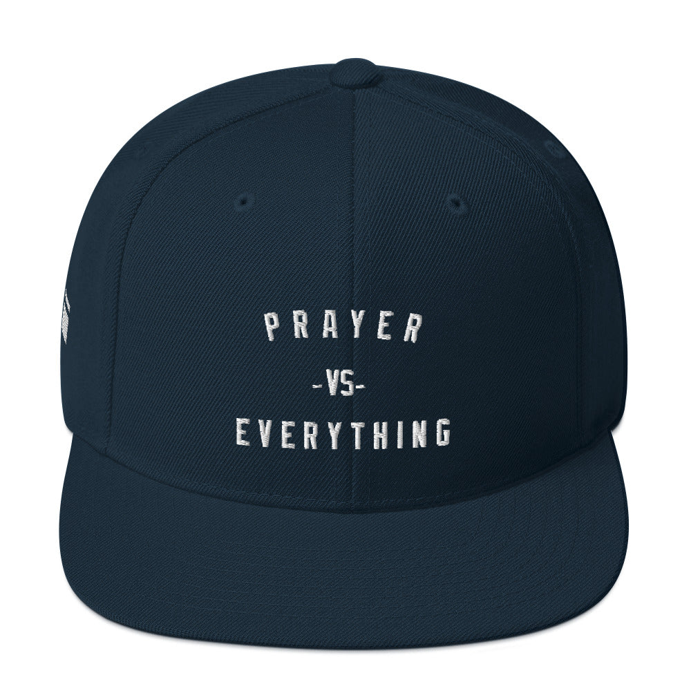 Prayer VS Snapback Hat - one love islam