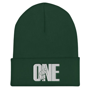 ONE Cuffed Beanie - one love islam
