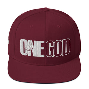 One God Snapback Hat - one love islam