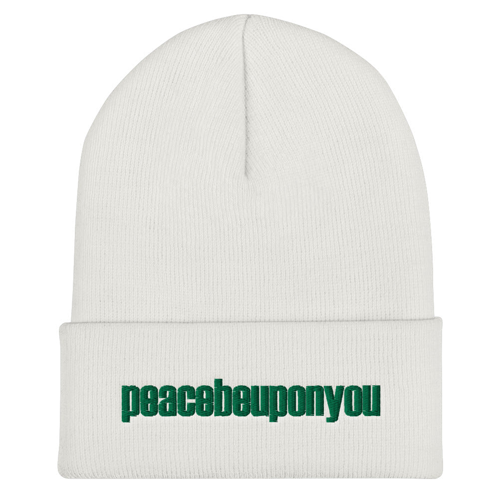 PBUY Cuffed Beanie - one love islam