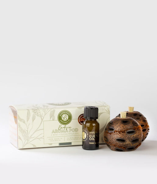 Banksia Double Pod Mini Gift Box - Gifts At The Quay