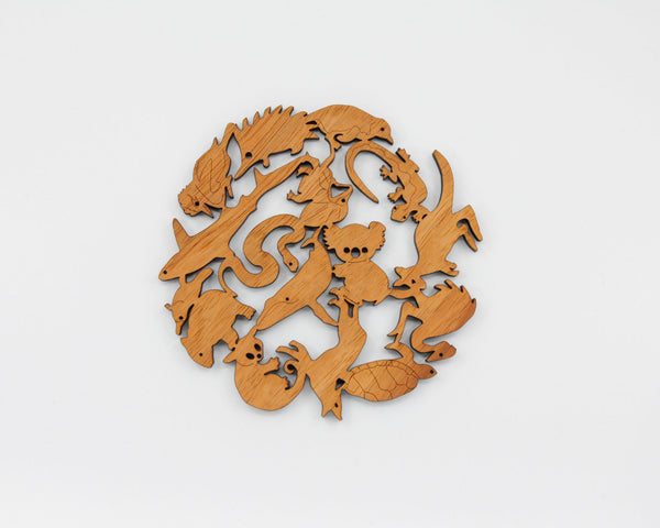 Mix Animal Trivet - Gifts At The Quay
