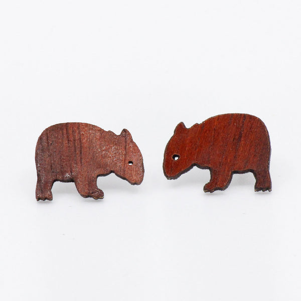 Wombat Studs - Gifts At The Quay