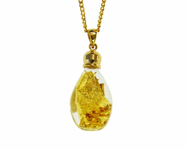 GP200012 Gold Glass Pendant - Gifts At The Quay