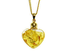 GP200031 Gold Glass Pendant
