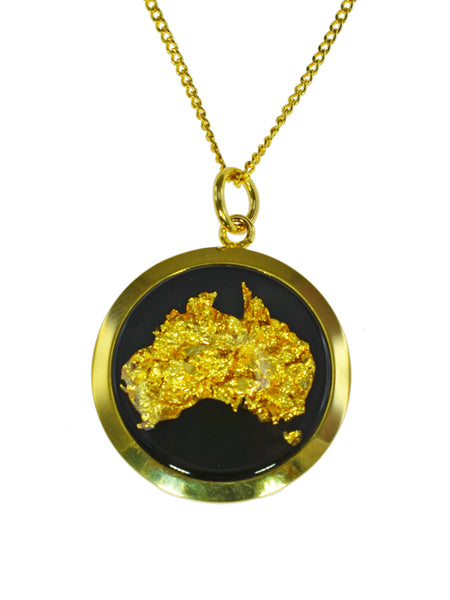 GP250119 Gold Pendant - Gifts At The Quay