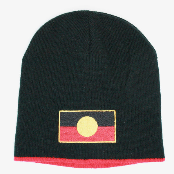 Aboriginal Flag Reversible Beanie