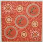 Kathleen Buzzacott Aboriginal Art Dot Painting
