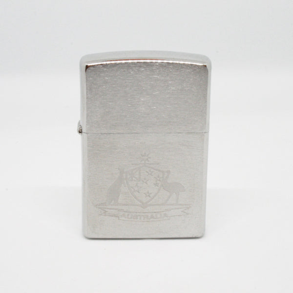 Genuine Zippo Lighter Kangaroo And Emu