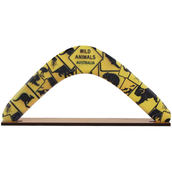 Mudio Artistry Range Boomerang - Road Sign