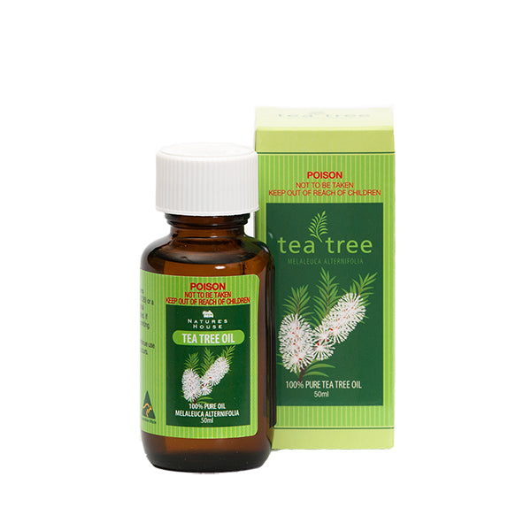 100% pure Tea Tree Oil 50ml - Gifts At The Quay