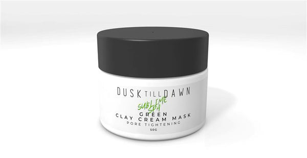 Dusk Till Dawn Green Clay Mask