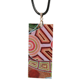 Aboriginal Art Pendant - Living