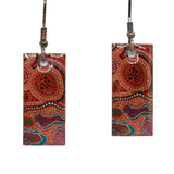 Aboriginal Art Earring - Gather Together