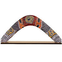 Western Desert Collection Returning Boomerang - Debra McDonald Nangala