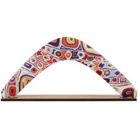 Western Desert Collection Returning Boomerang - Felicity Robertson Nampitjinpa