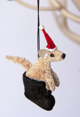Joey In Boot Christmas Ornament