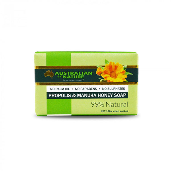 Propolis & Manuka Honey Soap 100g - Gifts At The Quay