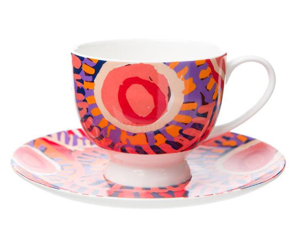 MURDIE MORRIS TEA CUP & SAUCER - Gifts At The Quay